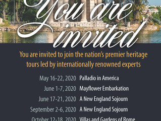 Announcing 2020 heritage tours by NEHGS & American Ancestors