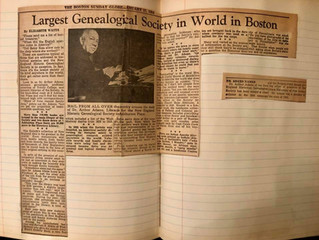 Largest Genealogical Society in World in Boston