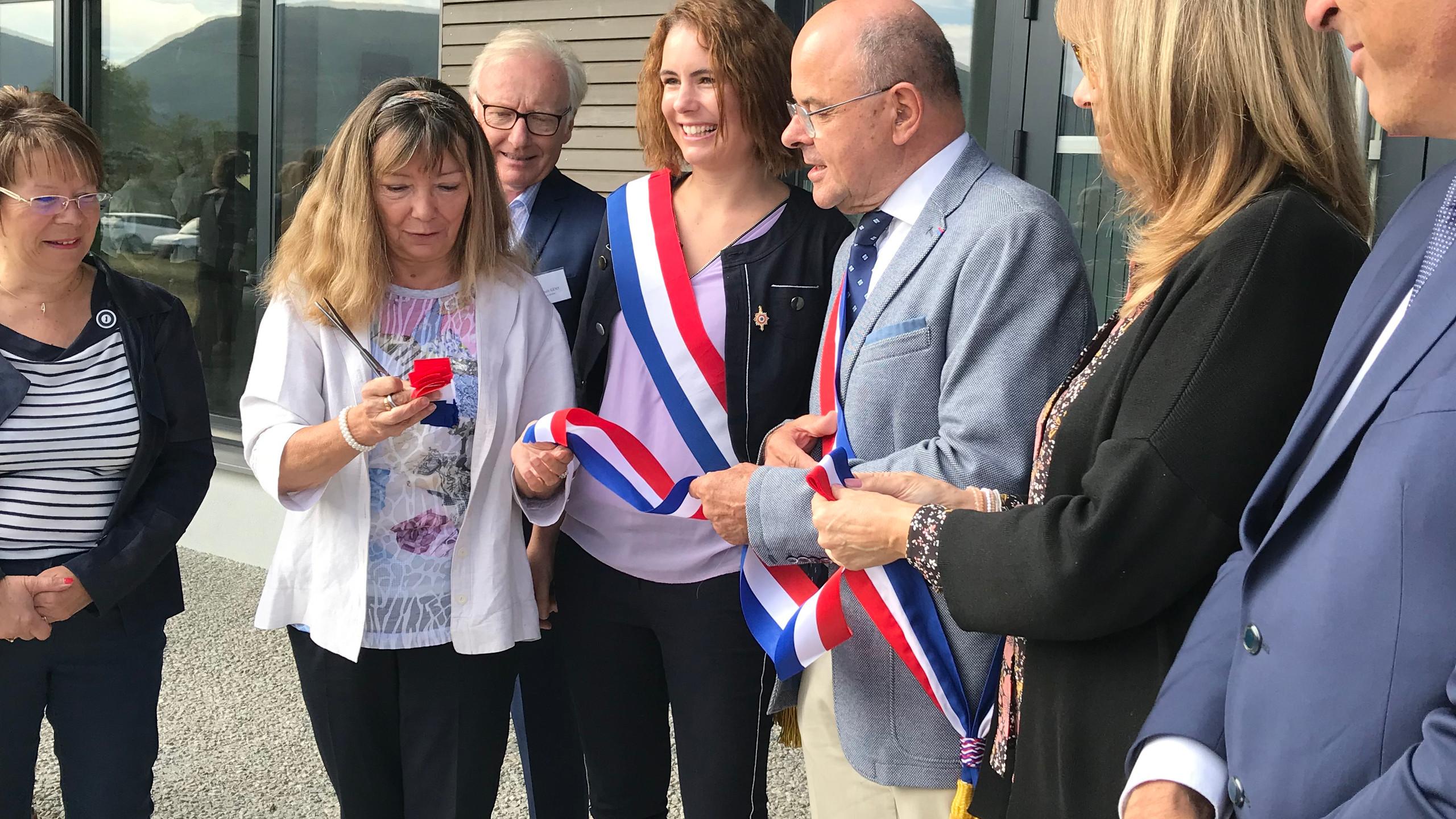 Inauguration à Corbonod
