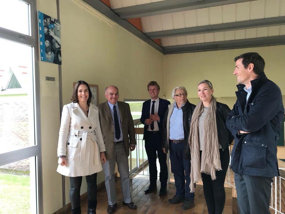 Visite Etablissement de santé MGEN à Chanay