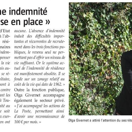"""Le Pays Gessien : """"Je souhaite qu'une indemnité de résidence soit mise en place"""""""