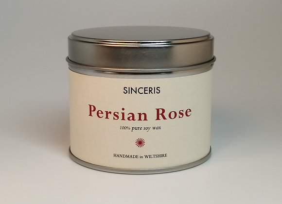 Persian Rose Soy Wax Candle
