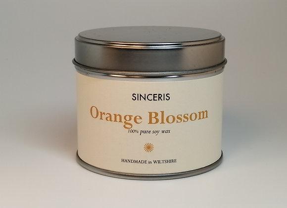 Orange Blossom Soy Wax Candle