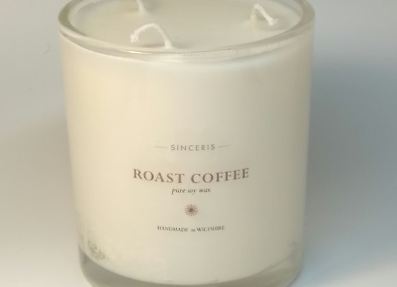 Large Roast Coffee 3 Wick  Soy Candle