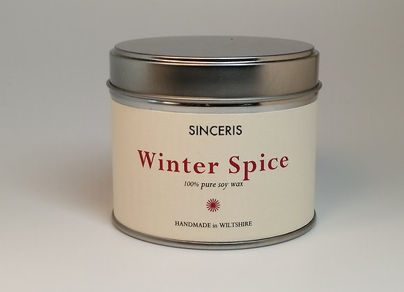 Winter Spice Soy Wax Candle