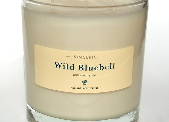 Giant Bluebell 3 wick Soy Wax Candle