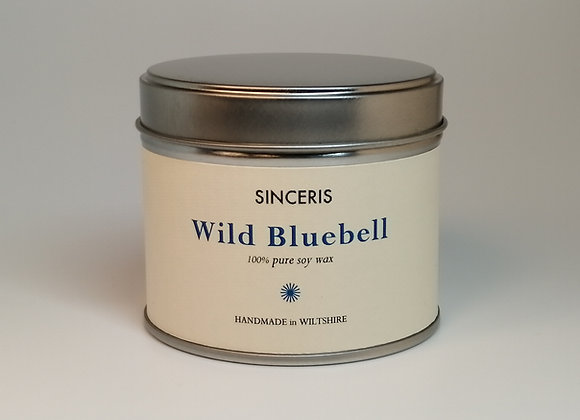 Wild Bluebell Soy Wax Candle