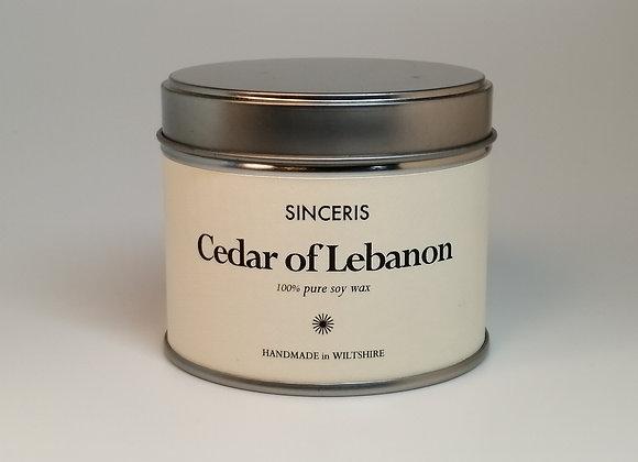 Cedar of Lebanon Soy Wax Candle