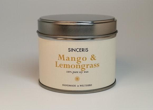 Mango & Lemongrass Candle
