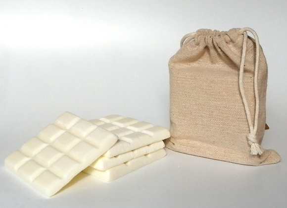 Fresh Linen Soy Wax Melt 4 x 35g Snap Bar