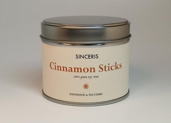 Cinnamon Sticks Soy Wax Candle