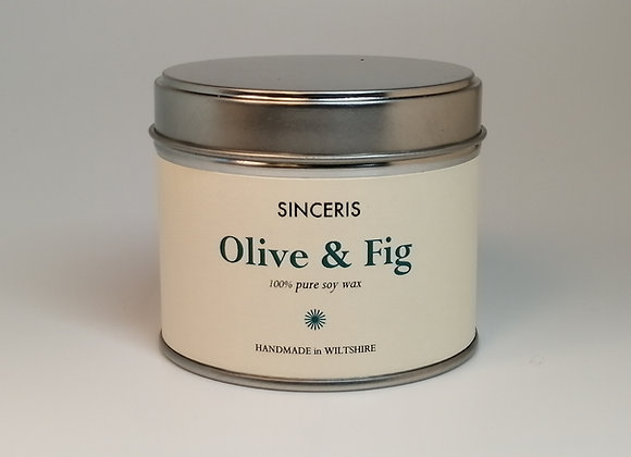 Olive & Fig Soy Wax Candle