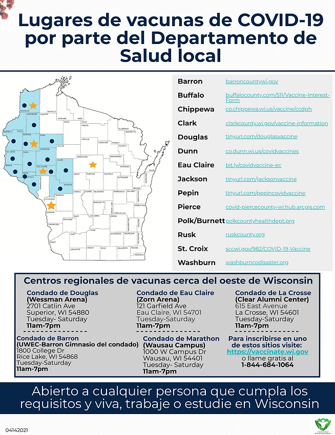 Vaccine Location Map (High Resolution) S