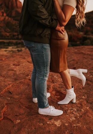 Yesy & Kevin in Sedona_Jmark Photography