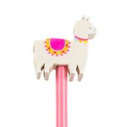 Alpaca Pencil with Eraser Top