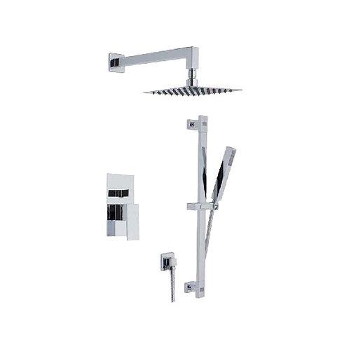 Shower Faucet Cubic & Hand Shower Set