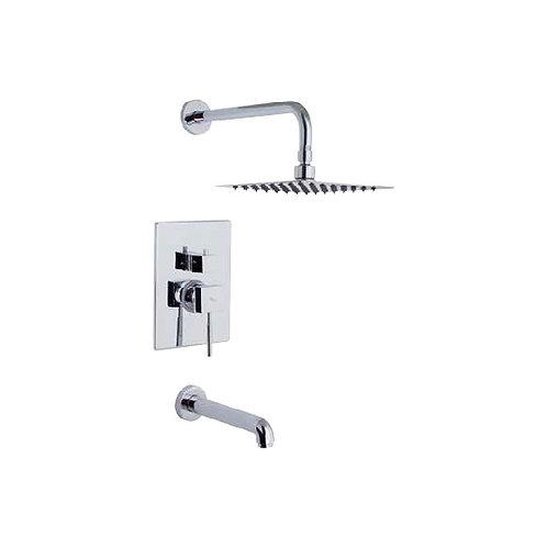 Shower Faucet Tetra & Tub Set