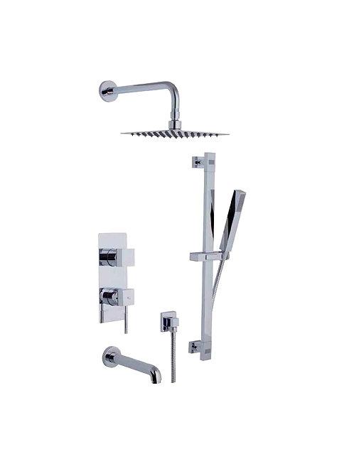 Shower Faucet & Hand Shower Tub Set