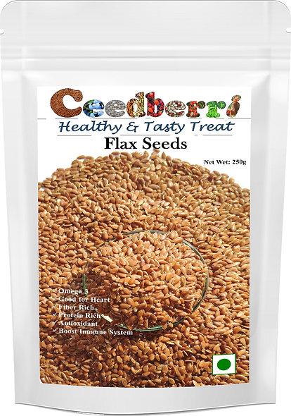 Ceedberri Flax Seeds (250g)