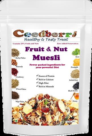 Ceedberri Fruit and Nut Muesli