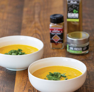 Coconut Chai Carrot Soup