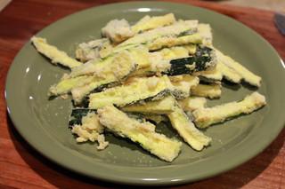 Baked Truffle Zucchini Fries