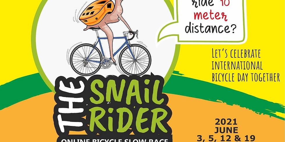 The Snail Rider- Bicycle Slow Race Competition