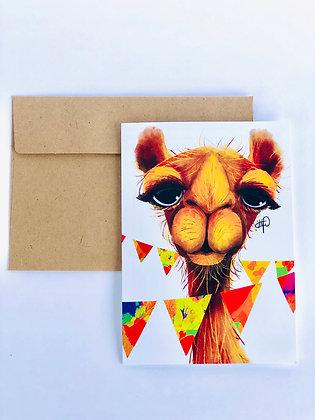 Party Camel 5x7