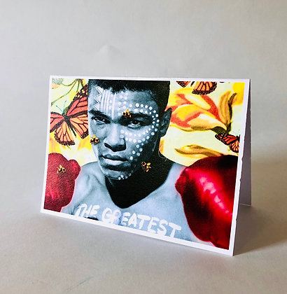 The G.O.A.T 5X7in Card