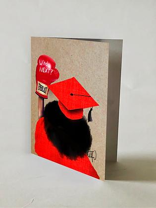 Who's Next Grad Card#3