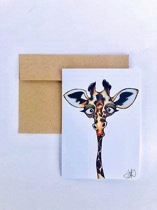 Giraffe 5x7