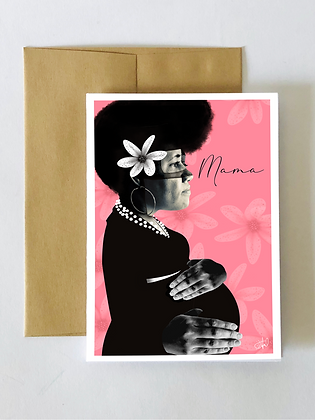 """""""Mama"""" Mother's Day card"""