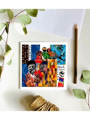Black Lives Matter Card
