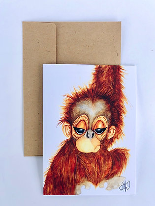Orangutan 5x7