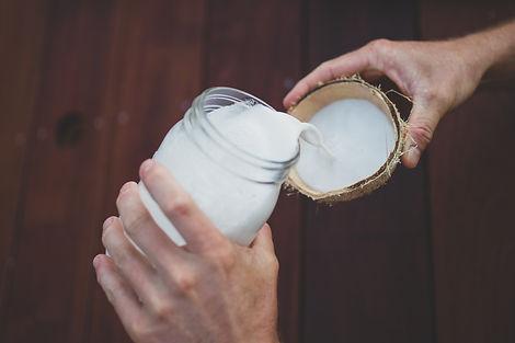 Farm fresh coconut milk