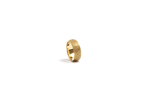 Textured Wedding Ring