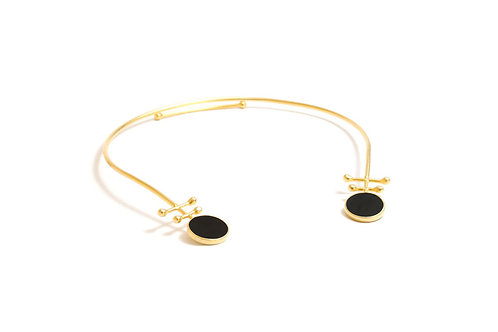 Abar Gold Collar