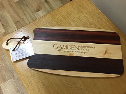 Camden Logo on cheese board 2017.JPG