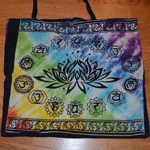 Chakra Lotus Tote Bag