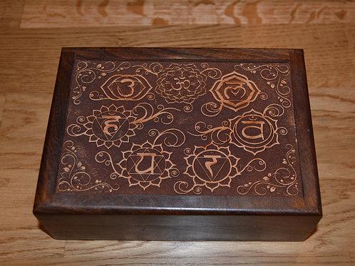 Chakra Wooden Box