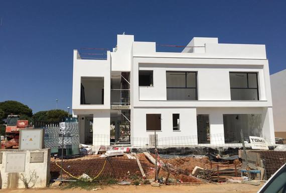 Main Elevation - Under construction