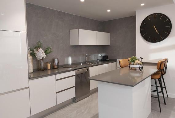 Multipurpose & Entertainment room - Kitchen