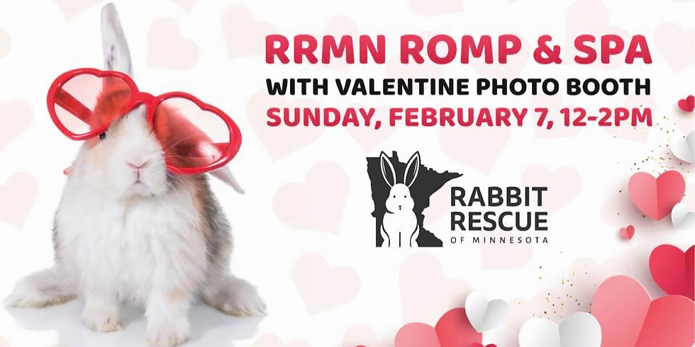 RRMN Romp & Spa/Nail Trim/Valentine Photo Booth - Sunday