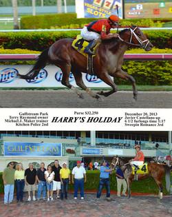 Harry's Holiday Dec 20, 2013