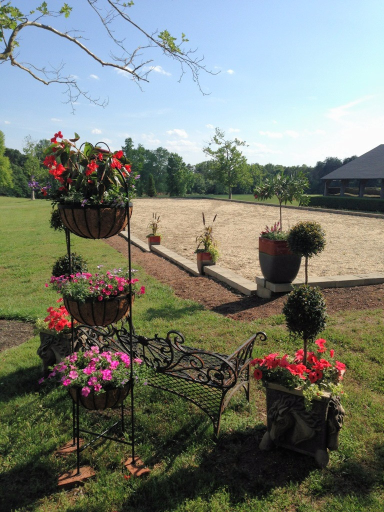 Colorful container gardens from A Growing Concern Landscaping in Hendersonville