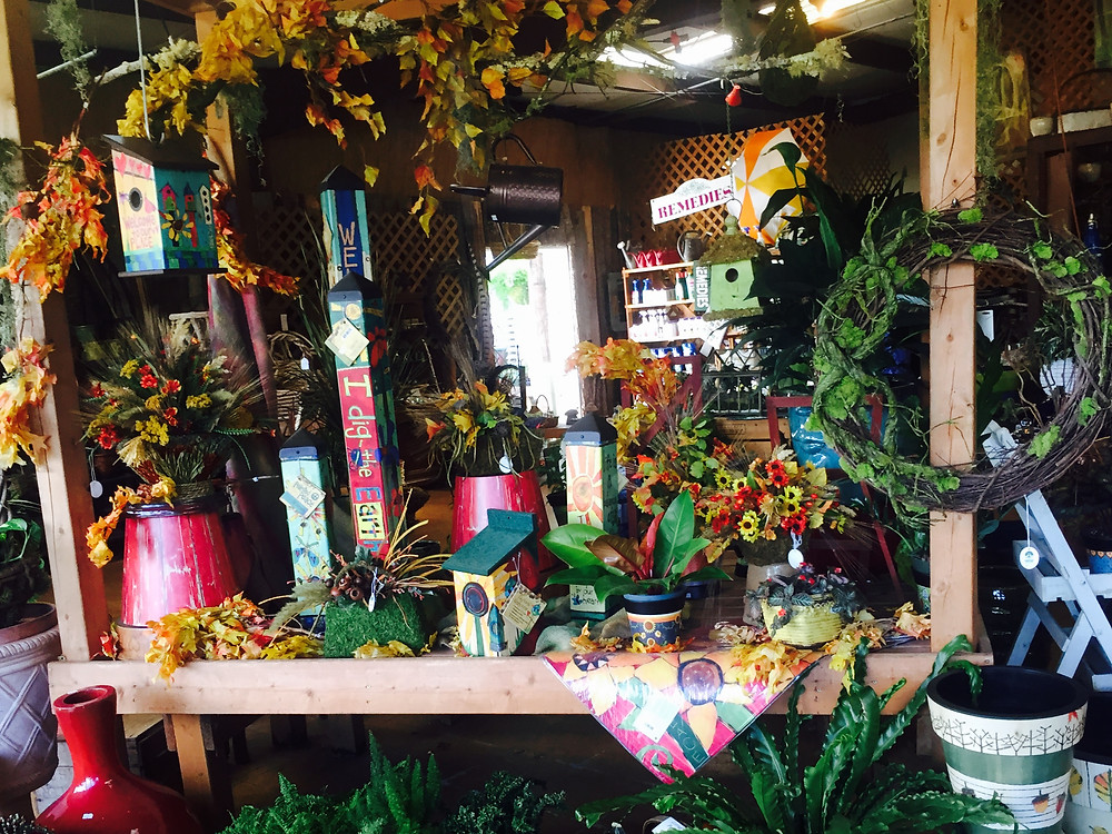 A Growing Concern garden center fall decorations