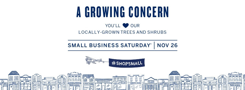 #ShopSmall in Hendersonville at A Growing Concern Garden Center