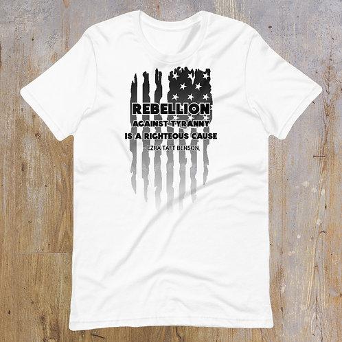 Unisex Rebellion T-Shirt (white)