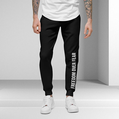 Unisex Freedom Over Fear Joggers