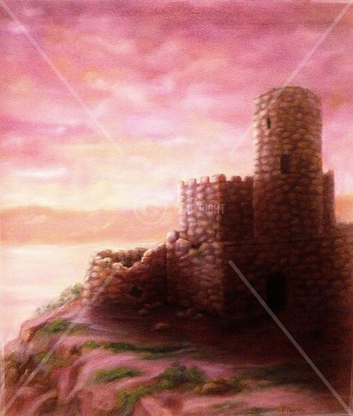 """""""Château au crépuscule"""""""
